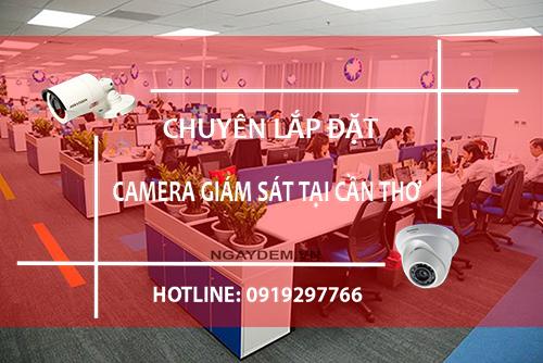 Lắp đặt camera giám sát tại Cần Thơ