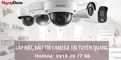 Lắp đặt camera tại Tuyên Quang